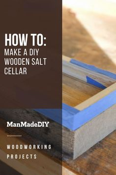 Taking from the kitchen salt cellars you scoop and pinch from as you cook, we create a communal cellar to place on your table that's perfect for a party of one or a party of many. No more clogged shakers! // DIY Wood Box // Wood Project // Easy Wood Craft // Diy Wood Box, Wooden Diy, Wood Boxes, Easy Wood Projects, Wood Crafts, Woodworking Projects, Salt Cellars, Party, Cook