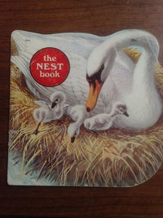 The Nest Book Vintage Golden Shape Book by Kathleen Daly