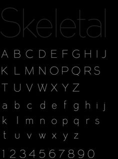 This was easy.  I love this sans serif font.  The elegant simplicity. This modern feel.  The cleanness.  The ecru display on black background.  I'm obsessed with fonts and this is my favorite.  This is my top pin on my board:  TYPOGRAPHY