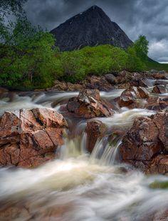 Glen Etive way by donald Goldney / 500px (Scotland)
