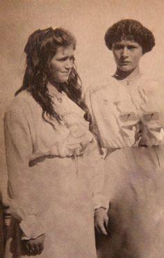 Grand Duchesses Marie (left) and Tatiana.