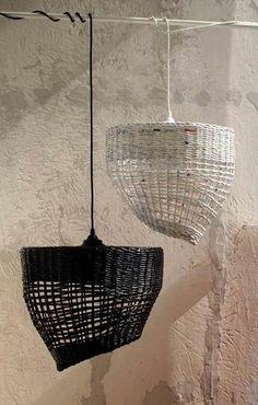 Lámpara de mimbre - Wicker Lamp