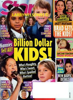 Star Magazine, Blue Ivy, Cover Pics, For Stars, Bombshells, Magazines, Prince, Kids, Journals
