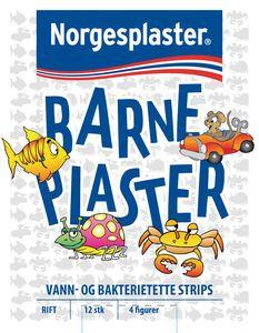 Norgesplaster Barneplaster 12 stk