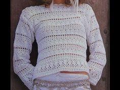 Crochet sweater calado 57 new Ideas Crochet Mens Scarf, Crochet Vest Pattern, Crochet Patterns, Crochet Hat For Beginners, Beginner Crochet Tutorial, Crochet Baby, Knit Crochet, Crochet Shawls And Wraps, Crochet Winter