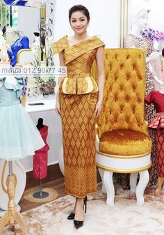 Traditional Dresses Designs, African Traditional Dresses, Traditional Outfits, Trendy Dresses, Casual Dresses For Women, Nice Dresses, Modern Filipiniana Dress, African Lace Styles, African Blouses
