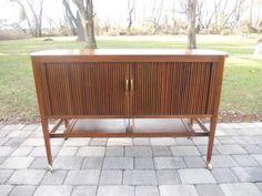 Mid Century Modern Kipp Stewart for Drexel Declaration Bar cart /Media Credenza