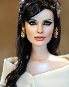 Celebrity Barbie Noel Cruz Creations - Angelina in character in The Tourist