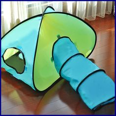 Cat Kitten Pet Play TENT Supplies Rustling Tunnel Playground Toys - US $24.70