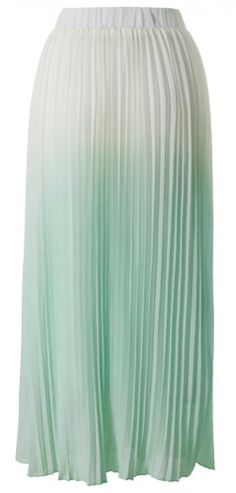 Ombre skirt in #mint http://rstyle.me/n/ibiy9nyg6
