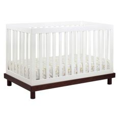 Babyletto Madison 3-in-1 Convertible Crib - EspressoWhite