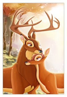 the great prince of the forest and bambi's mother - Google Search