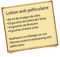 Plus de 1000 id es propos de huiles essentielles sur for Antipelliculaire maison
