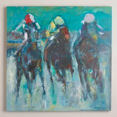 """""""Racehorse"""" by Neil Helyard   World Market (for my husband)"""