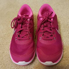 NWOT Nike Flex TR 5 Fuschia pink rubber shoes.  Brand new, never worn. Nike Shoes Athletic Shoes
