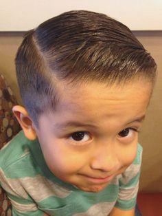 little boys fade combover - Google Search