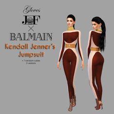 Jumpsuit at JFC-Sims • Sims 4 Updates