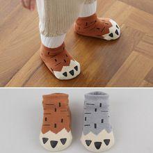 (2 pçs/lote) desgaste Do Inverno Do Bebê meias recém-nascido antiderrapante meias chão crianças meias meias de algodão menino e menina meias crianças(China (Mainland))