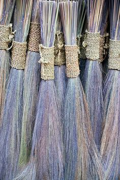Brooms for sale, Bhaktapur Broom Corn, Witch Broom, Brooms And Brushes, Whisk Broom, Cider House, Wiccan, Witchcraft, Magick, Wabi Sabi