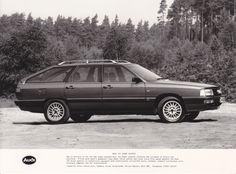Audi 200 Avant Quattro - UK 1985 Audi 200, Vw Group, Audi Cars, Car Manufacturers, Press Photo, Audi Quattro, Wander, Volkswagen, Automobile