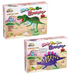 The make your own dinosaur craft sets from Everything Dinosaur (suitable for ages 6 and up).