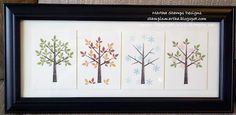 Season Frame Art Kit by Martha Haddock
