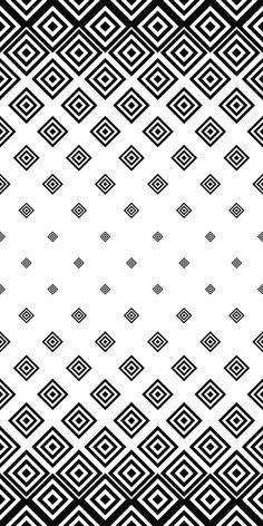 Black white seamless square pattern design in 2019 desenler, sanat, telefon Square Patterns, White Patterns, Textures Patterns, Vector Design, Design Art, Design Ideas, Monochrome Pattern, Pattern Art, Pattern Designs