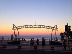 Meus dias em Gold Coast foram simplesmente maravilhosos. A Austrália é um país incrível, apaixonante.