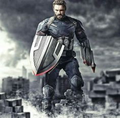 Captain America new look
