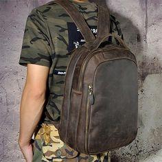 Vintage Leather Backpack,School Backpack GM008 – Leajanebag Vintage Leather Backpack, Black Leather Backpack, Leather Crossbody Bag, Leather Backpacks, Laptop Backpack, Backpack Bags, Travel Backpack, Leather Bags Handmade, School Bags