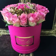 Image in flowers🌺 collection by 𝓤 𝓵 𝔂𝓪🌝 on We Heart It Flower Box Gift, Flower Boxes, My Flower, Different Shades Of Pink, Luxury Flowers, Love Rose, Beautiful Roses, Valentine Gifts, Pink Roses