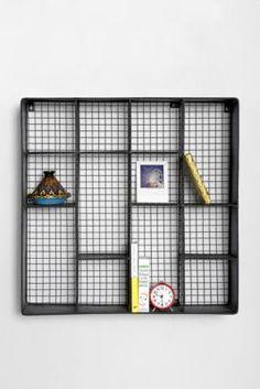 4040 Locust Metal Wall Rack