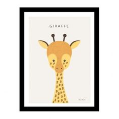Modern Minimalist Cute Cartoon Children's Room Canvas Painting Art Print Poster Picture Wall Nordic Home Bedroom Decoration Kids Canvas Art, Canvas Art Prints, Canvas Wall Art, Multi Picture, Cute Giraffe, Cute Cartoon Animals, Poster Pictures, Adobe Illustrator, Poster Prints