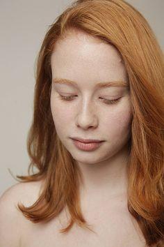 natural red hair.  beautiful