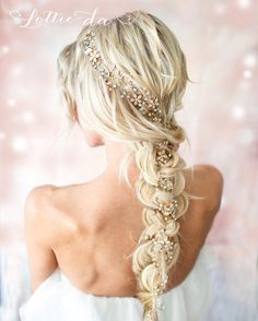 Cute hairstyles for long hair #hairstyle #hair #promhair #weddinghair #hairstyles