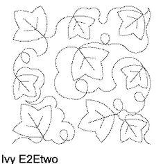 Ivy Free Machine Quilting Pattern