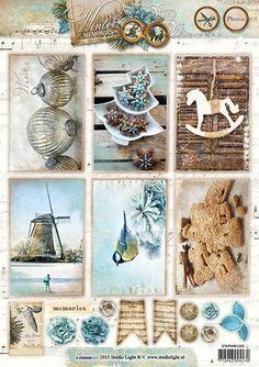 Studio Light Knipvellen A4 Winter Memories 1352 Welkom bij Hobbyvoordelig online