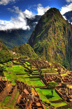 Machu Pichu en el dia