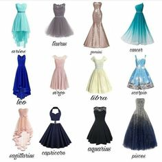 Comment your favorite dress and your zodiac sign! Zodiac Signs Sagittarius, Zodiac Star Signs, Zodiac Horoscope, Aquarius Astrology, Astrology Numerology, Sagittarius Scorpio, Cancer Horoscope, Numerology Chart, Tumblr Outfits