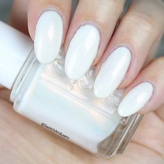 Sweet Soufflé is an iridescent white from the Essie Summer 2017 Collection! (See collection swatches on SwatchAndLearn.com today! Link in profile.)