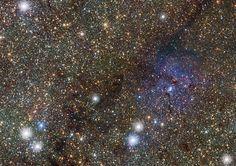 Algunas estrellas exhiben diferentes comportamientos en períodos de tiempo cortos. Por ejemplo, algunas pueden variar su brillo en tan sólo unos días. Son estrellas variables... #astronomia #ciencia