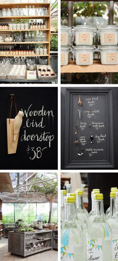 Would be cute to have a chalkboard menu or chalkboard incorporated into the tablescape