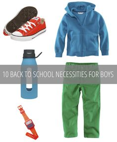 10 Back To School Necessities For Boys