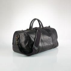 Polo Ralph Lauren Leather Duffel Bag on shopstyle.com