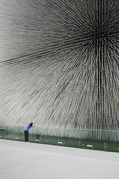 Heatherwick Studio Expo 2010 UK Facade.
