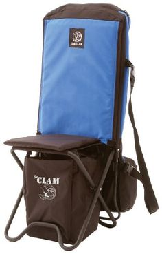 If you're going to carry a chair to your favorite ice-fishing hole, you might as well carry all your fishing gear, too, in Kayak Fishing Gear, Fishing Chair, Fishing Hole, Kayaking Gear, Ice Fishing, Camping Furniture, Camping Chairs, Backyard Camping, Camping Gear