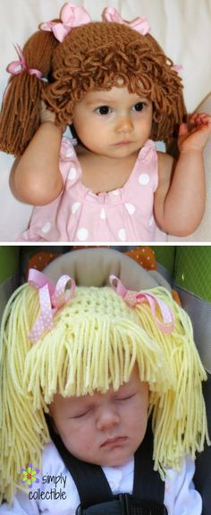 Crochet Cabbage Patch Hats Pattern Cabbage Patch Hat Cabbage