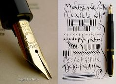 Montblanc 246 G Celluloid Fountain Pen 1950s 14c F M Flex NIB Mint RARE | eBay $609