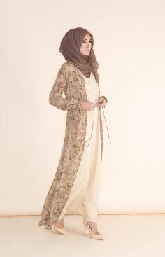 Flora & Fauna Button Down Kimono | Aab
