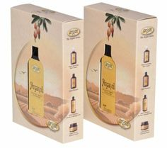 Hair Oil Moroccan Argan Kit - Exclusive Herbal Oils Complex for All Hair Types - Daily Certified Argan Serum oz Pack of 2 Set Argan Oil Hair Mask, Hair Oil, Argan Oil Conditioner, Argan Oil Benefits, Decorated Boxes, Herbal Oil, Oil Uses, Alcohol Free, Preserve
